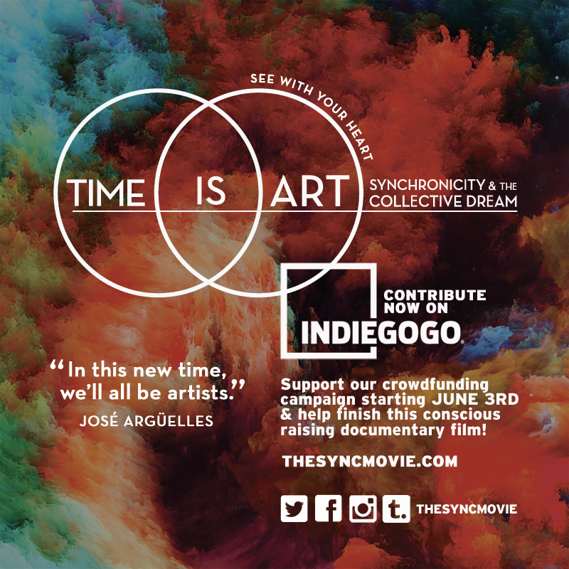 time is art, indiegogo, crowdfunding