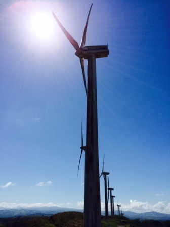 wind power, costa rica